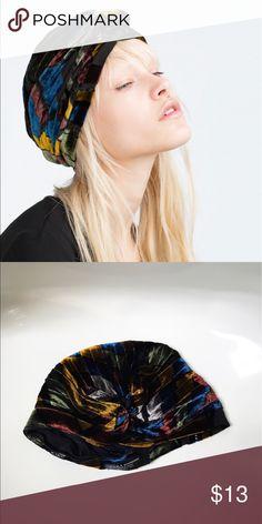 Velvet turban headband Multiple colors, velvet Zara Accessories Hair Accessories