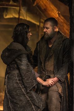"2014 Russell Crowe, Jennifer Connelly & Emma Watson star in ""Noah"" by Paramount Pictures. by starpulse.com ( Costume Design by Michael Wilkinson)"