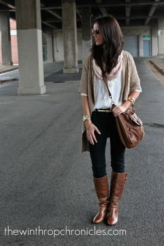 Outfits with Knee High Boots | ... double take after i see one wearing that sort of outfits maybe its the