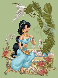 Jasmine by Pedro Astudillo | by Mr_Sunday