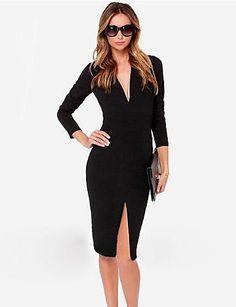 Ou.Bai.li   Women's European Fashion Trend Casual Cheap Dress