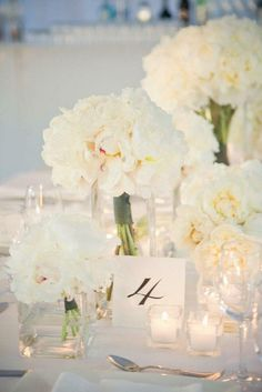White peonies to me resemble elegance, luck and love. When I carry them in my bouquet at my wedding this spring I hope they being just that to my marriage and life All White Wedding, Perfect Wedding, Our Wedding, Dream Wedding, White Weddings, Spring Wedding, Southern Weddings, Elegant Wedding, Wedding Ceremony