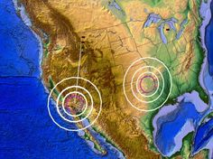 EARTHQUAKE SWARM STRIKES NEAR ANCIENT CALIFORNIA VOLCANO EAST OF LOS ANGELES –…