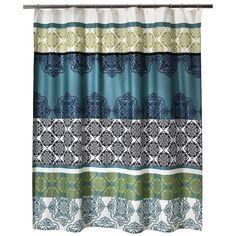 """Boho Boutique Mosaic Brocade Shower Curtain - 72x72"""""""