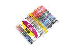 Uni-ball Signo UM-151 Gel Ink Pen - 0.38 mm - 8 Color Set