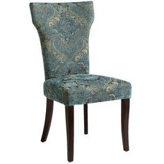 I just splurged and ordered this for my chair in my piano room. It gets really painful sitting on a hard kitchen chair for two hours while I teach. Carmilla Dining Chair - Davinci Teal