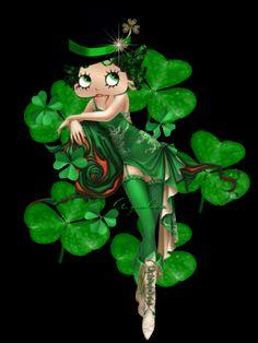 Betty Boop...I'll be your shamrock!    ღڪεїзےೡ