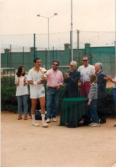 Premiazione della Squadra Campione Regionale Over 45  1992