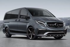 TopCar presents Inferno body kit for Mercedes-Benz V-Class.