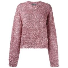 Dolce & Gabbana fluffy jumper (2.850 BRL) ❤ liked on Polyvore featuring tops, sweaters, dolce & gabbana, dolce gabbana, red sweater, long sleeve jumper, jumper top, red top and jumpers sweaters