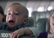JetBlue dá desconto pra cada vez que um bebê chorar no avião