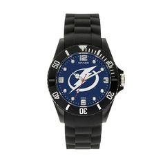 Sparo Men's Spirit Tampa Bay Lightning Watch, Black