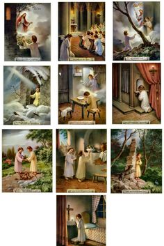 The Our Father prayer in pictures