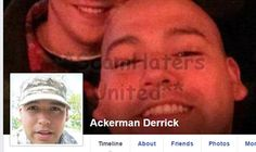 ACKERMAN DERRICK.... FAKE U.S.Army​ PROFILE FOR SCAMMING. https://www.facebook.com/FIGHTINGTHEMUGU/posts/546131952240853
