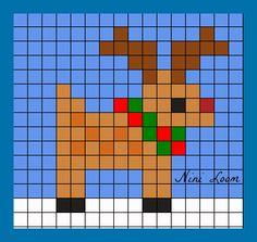 theme noel - Page 2 Tiny Cross Stitch, Xmas Cross Stitch, Cross Stitch Designs, Cross Stitching, Cross Stitch Embroidery, Cross Stitch Patterns, Pixel Art Noel, Crochet Pixel, Image Pixel Art