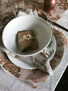 Table setting idea for wedding