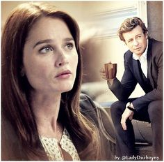 The best couple ever. Jisbon i love you so much ! Love You So Much, My Love, Patrick Jane, Simon Baker, The Mentalist, Forever Living Products, Best Couple, Best Shows Ever, True Love