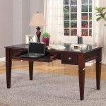 Parker House - Boston Writing Desk in Merlot - PAH-BOS-485