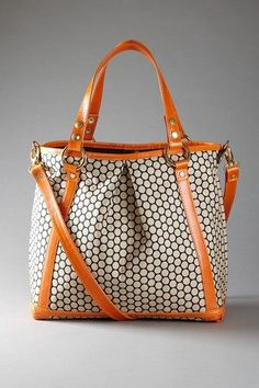 I don't even care that it's a diaper bag, I want this bag!