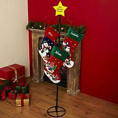 metal stocking holders