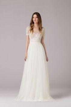 La mariée aux pieds nus - Anna Kara, robes de mariée - Collection 2015 - Modele