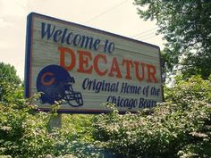 Decatur, Illinois Original home of the Chicago Bears