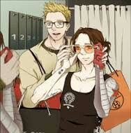 Steve introducing Bucky to his Hipster Ways!