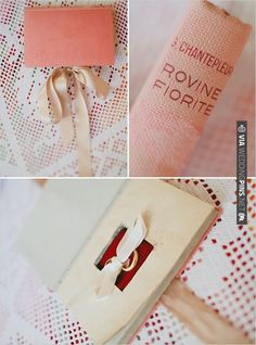 secret ring book | VIA #WEDDINGPINS.NET