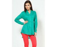 Full Sleeve Pintucks Green Kurti : http://lamora.in/tops/full-sleeve-pintucks-green-kurti.html?limit=100