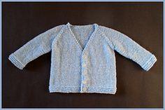 07704ec08d4e SilkWings  Free Pattern  Moss stitch baby cardigan