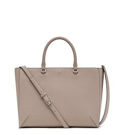Named for Tory's parents — Buddy and Reva Robinson — the Robinson Large Zip Tote…