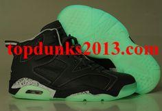 online store bd44f a236c Glow In The Dark Jordan 6 Carbon Grey Internet Sales