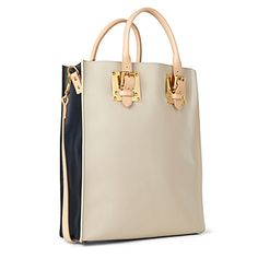 Double plates buckle tote
