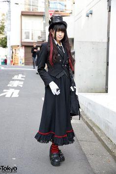Handmade Gothic Harajuku Fashion w/ h.NAOTO Spiderweb Bag | it's her -> https://twitter.com/ruru_chante