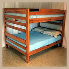 queen size bunk beds | ... beds with ease. Accessories for bunk bed sales can be added at any