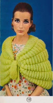 Isabelle Andréo Tricot: liseuse Isabelle, Vintage Couture, Fingerless Gloves, Arm Warmers, Knit Crochet, Knitting, Sweaters, Halloween, Fashion