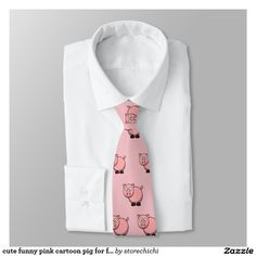 cute funny pink cartoon pig for farmers, or kids.