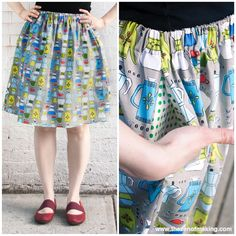 Tutorial Update: Plus Size Fit Guide for the Perfect Summer Skirt! #skirts #sewing #fitting