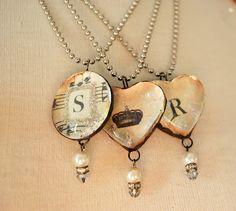 ♥ Idea for Bleeding Heart Necklace