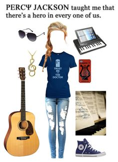 """""""Daughter of Apollo"""" by hannahmatheny on Polyvore featuring Disney, DB Designs, Urban Outfitters, Kenneth Cole Reaction, Converse, percyjackson, OC, pjo, Demigod and apollo"""