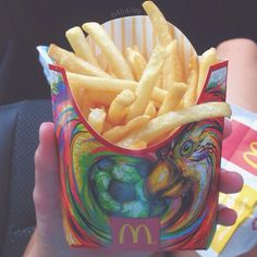 I only like this pin because of the art on the fry container. McDonald's is nasty.