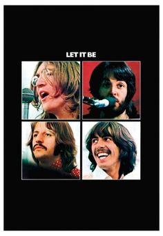 The Beatles - Let It Be Capa do Disco lançado em 1969.