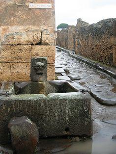 Fountain in Pompeii