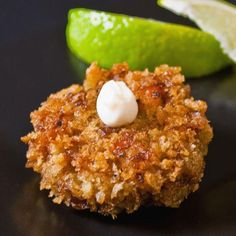 Seafood Recipes : Curried Seafood Cakes with Fresh Ginger Aioli Recipe