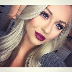 wearing DARK ROOM lipstick!  #meltcosmetics #meltdarkroom