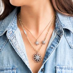 Starburst Pendant #Necklace  #ChloeandIsabel #fashion LIFETIMEGUARANTEED https://www.chloeandisabel.com/boutique/cuteclassy