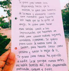 Sí solecito tomarnos fotos desprevenidos Love Phrases, Love Words, Daily Quotes, Book Quotes, Sad Love, Love You, Love In Spanish, Frases Love, Tumblr Love