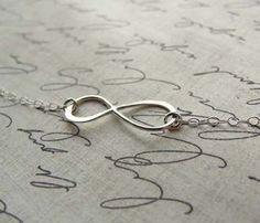 Sterling Silver Infinity Bracelet