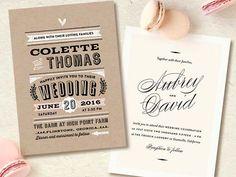 Oh la la! Minted's wedding invitation suite are très chic! Parisian Wedding, Chic Wedding, The French Laundry, Wedding 2015, Wedding Invitation Design, Stationery, Mint, Inspiration, Biblical Inspiration