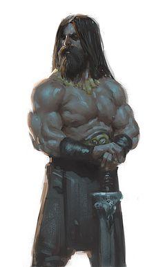 Salamär, le Nain. Fils de Phortyme, Dieu de la Loi, de l'Ordre et de la Justice.